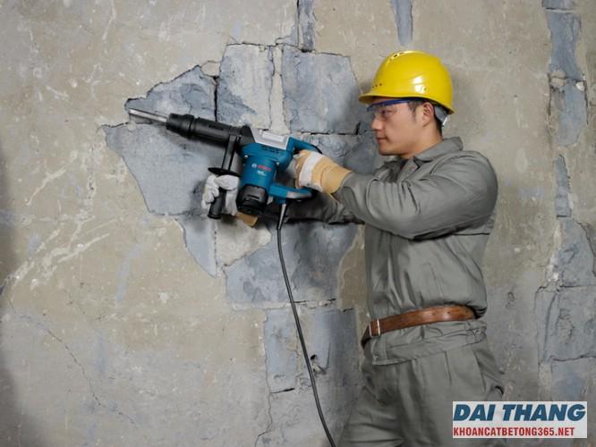 Đục phá bê tông chất lượng tại Trần Duy Hưng